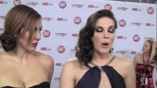 Princess Donna and Bobbi Star talk to SF Bay Guardian at AVN 2012
