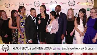 Ethnicity Awards 2018: Employee Network Group (joint): Reach, Lloyds Banking Group