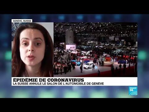 Coronavirus: le salon de l'automobile Suisse annulé aux côtés d'une dizaine d'événements