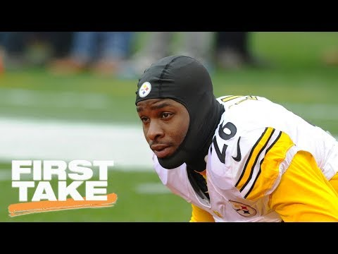Le'Veon Bell holding out of preseason keeps him from getting hurt | First Take | ESPN