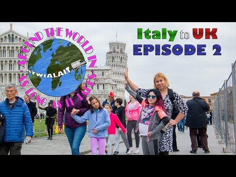 Italy Motorhome Trip March 2017 Episode 2