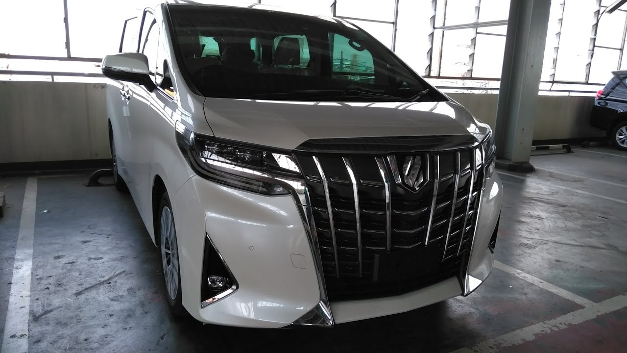all new toyota alphard 2018 indonesia camry 2019 malaysia facelift 2 5 g a t first impression review