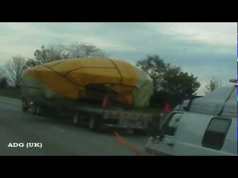 UFO Transported To Wright-Patterson Airforce Base? 2012 HD