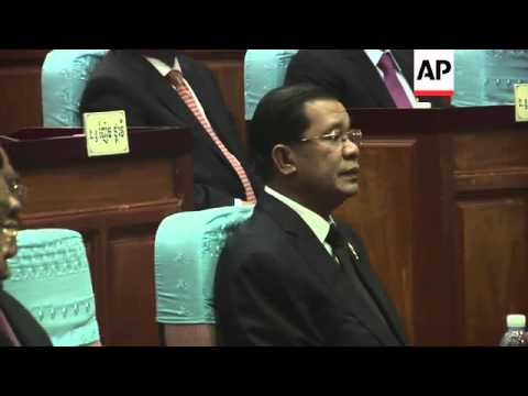 Hun Sen renamed Cambodia PM as opposition boycotts parliament