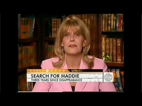 CBS interview Pat Brown - Renewed search for Maddie May 2010
