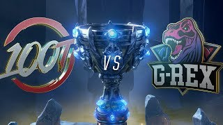 100 vs GRX | Worlds Group Stage Day 3 | 100 Thieves vs G-Rex (2018)