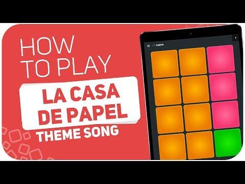 How to play: LA CASA DE PAPEL (Theme Song) - SUPER PADS - Kit CASITA