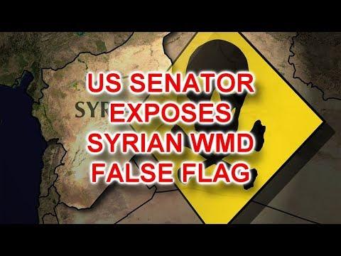 US Senator Exposes Imminent Syrian WMD False Flag; Says Hillary Ordered Murder Of Chris Stevens