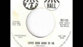 TONY BORDERS - LOVES BEEN GOOD TO ME