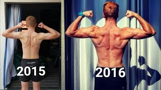 1 Year Body Transformation (18 Year Old) (Calisthenics/Street Workout) Bar Brothers South Africa