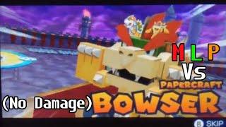 Mario & Luigi - Paper Jam [Boss 15] Papercraft Bowser (No Damage)