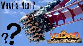 Volcano The Blast Coaster Removal