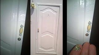 Как сделать дверь в кукольный домик своими руками. Дверь для куклы. DIY. The door to the doll house