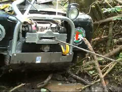 Typical Winch Challenge (Hydraulic Milemarker Winch)