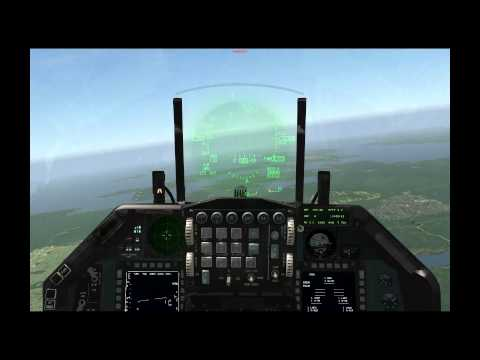 Falcon 4 BMS Tutorials: FCR, AIM-120, AIM-9, HMCS, Dog Fight Mode
