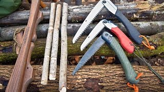Saws for the Outdoors, Bushcraft, Camping, Monkeying Around.