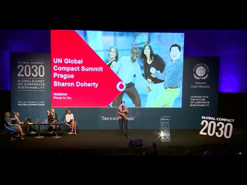 GLOBAL COMPACT 2030 Sharon Doherty Vodafone Group on Gender Equality