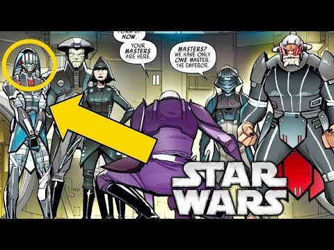 Who Is This Unknown Inquisitor Introduced to Darth Vader by Palpatine?