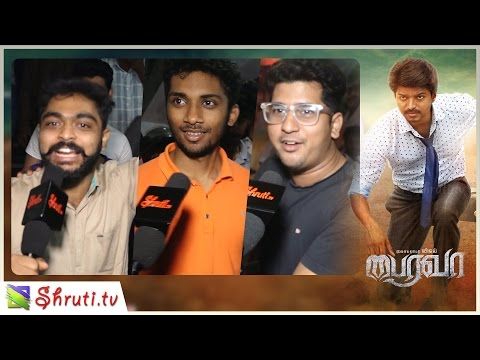 Bairavaa Review with Public | Vijay,...