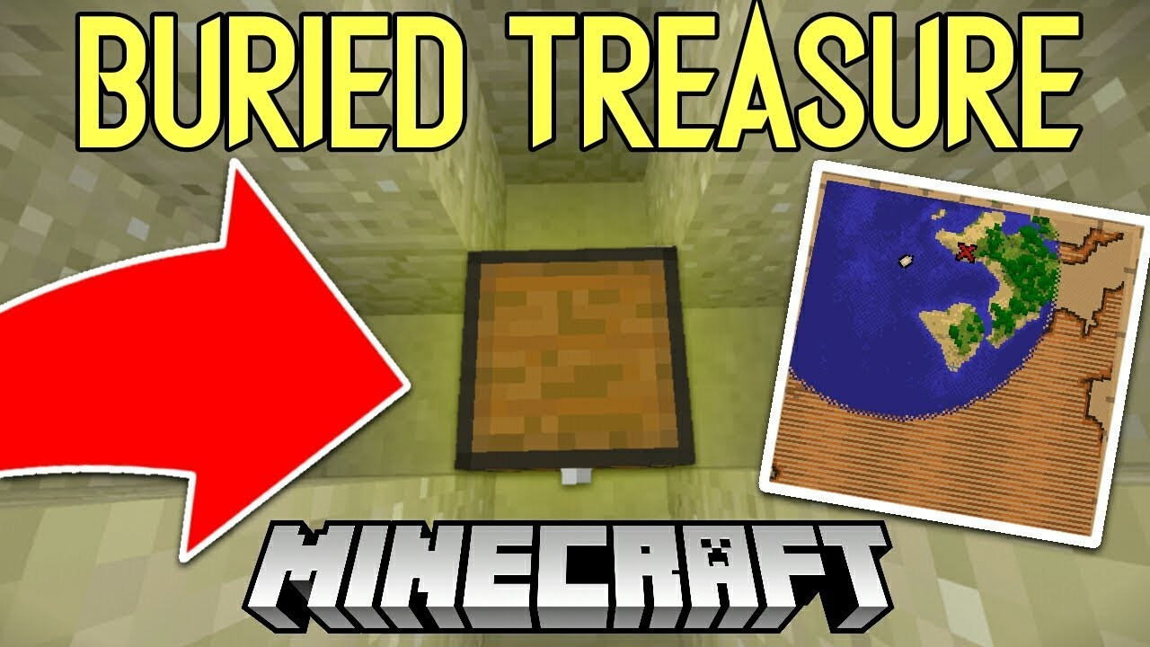 How to easily find Buried Treasure in Minecraft!