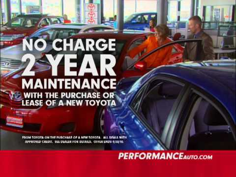 Performance Toyota Of Lincoln April 2010 Offers 2.mov