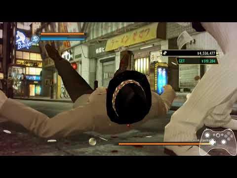 Yakuza 0 - Mr. Shakedown Kiryu Combo Setup |