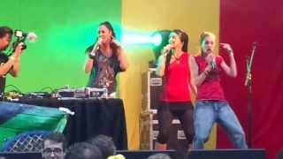 Leah Rosier Live @ Reggae Roepaen 2013
