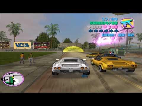 GTA Vice City - Racing Drunk Drivers