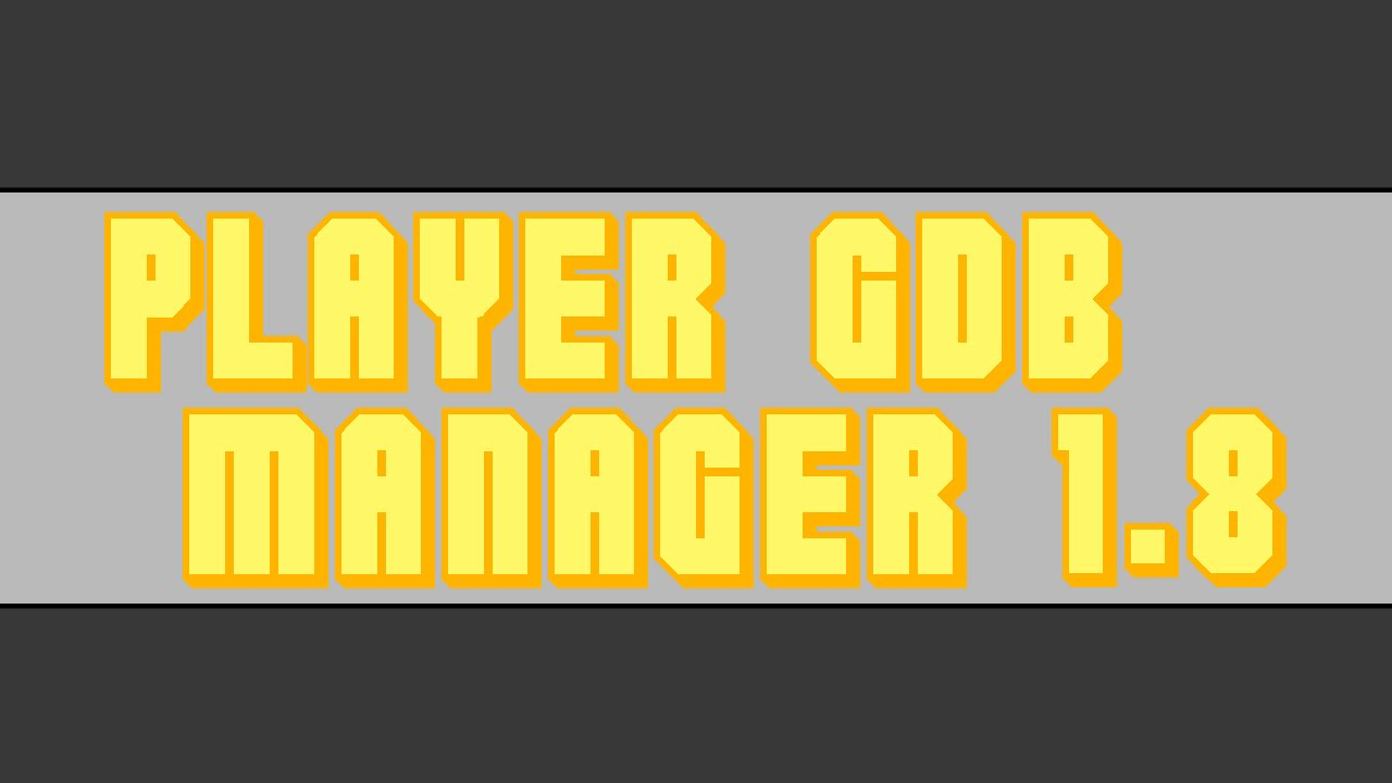 GDB 6 MANAGER PES BAIXAR PLAYER PARA