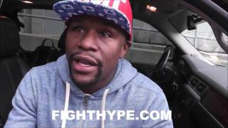 """FLOYD MAYWEATHER TELLS RONDA ROUSEY """"HOLD YOUR HEAD UP""""; COMMENTS ON KO LOSS TO NUNES"""