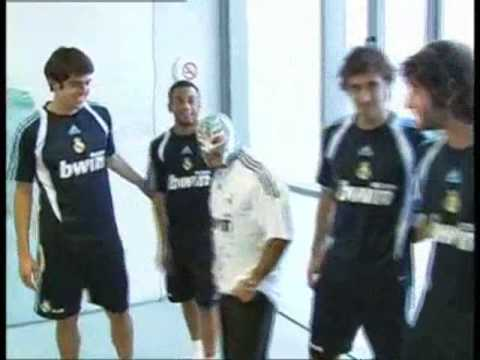 C.Ronaldo and Real Madrid Team meets Rey Mystereo - YouTube