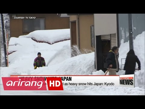 3 dead, more than 300 injured as heavy snow hits Japan: Kyodo