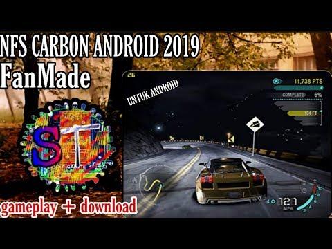 Download Dan Gameplay NFS CARBON Android Fanmade 2019 #gameoffline (link Download Ada Di Deskripsi)