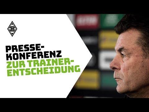 Pressekonferenz zur Trainer-Entscheidung