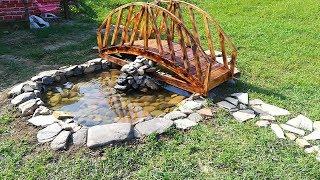 Süs havuzu yapımı koi havuzu filitreleme ve bahçe dekorasyonu