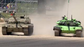 Video Chinese Tank ZTZ-96B Nearly Collided with Iran T-72B3 download MP3, 3GP, MP4, WEBM, AVI, FLV November 2018
