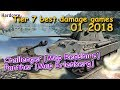 WOT What is going on in tier 7 Best damage games 01 2018 WORLD OF TANKS