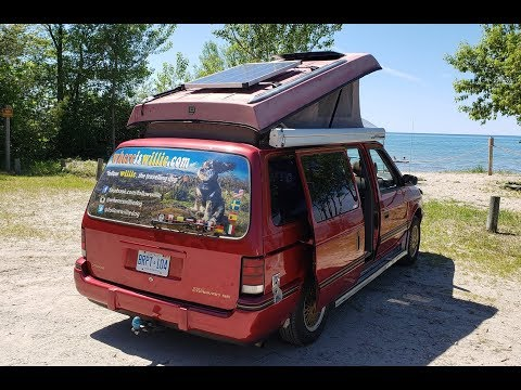 Dodge Caravan Camper For Sale - Ontario Canada