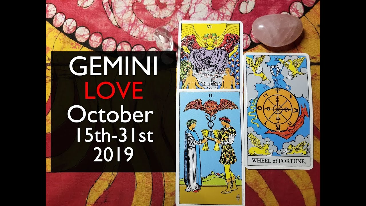 gemini horoscope today october 15 2019