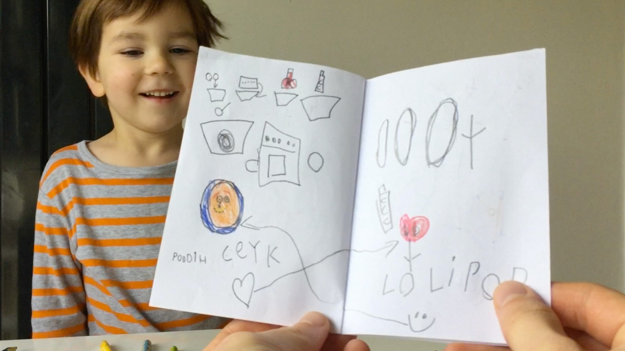 How To Make Your Own Books: Activity For Children - YouTube