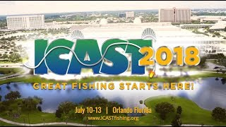 ICAST 2018 Great Fishing Starts Here