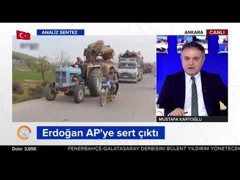 Erdoğan'dan AP'ye Afrin mesajı: İşimiz bitmeden Afrin'den çıkmayacağız