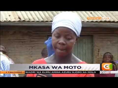 Familia yaachwa bila makao katika Kaunti ya Murang'a baada ya moto kuteketeza nyumba