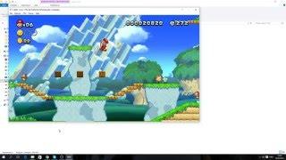 Cemu 1 4 2 New Super Mario Bros U русский интерфейс