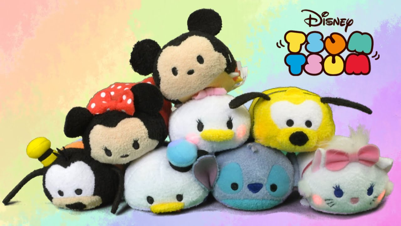 Disney tsum tsum light and sounds from just play youtube for Tsum tsum watch