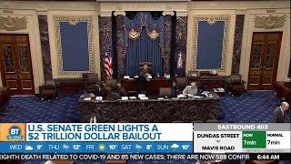 Gambar cover U.S. Senate passes $2T stimulus package