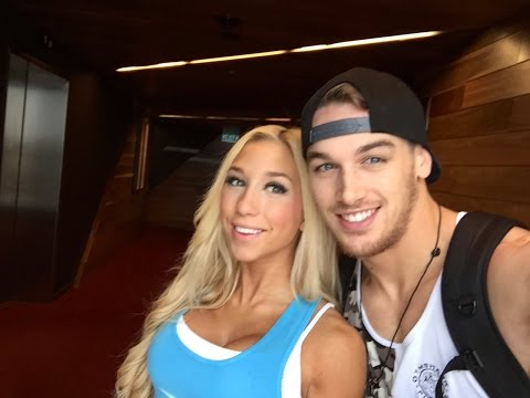 Arnold Expo in Melbourne with Team Gymshark
