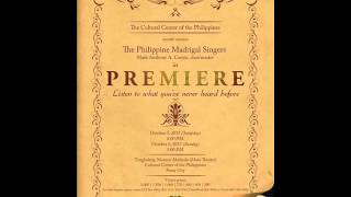 """[PREMIERE] """"I won't give up"""" by Philippine Madrigal Singers (with lyrics) Mp3"""