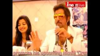 Shakti Kapoor in Agra to promote 'Crazy Girl'