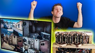 The $100,000 PC LIVES! 6 Editors 1 CPU Pt. 5